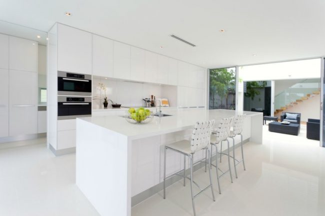 Tendencias en Cocinas Bilbao: Cocinas Modernas Blancas