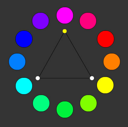 La armonía de los colores